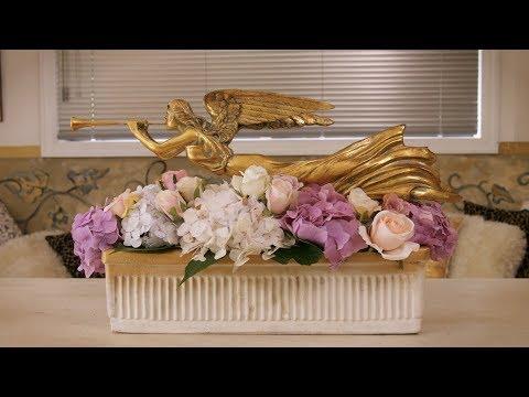 Floristry Design Tutorial: Golden Angel Table Flowers thumbnail