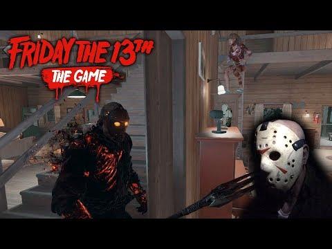 Friday the 13th the game - Gameplay 2.0 - Savini Jason