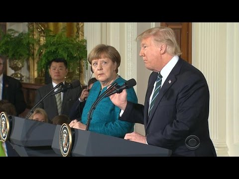 Thumbnail: President Trump drags Angela Merkel into his wiretapping claims