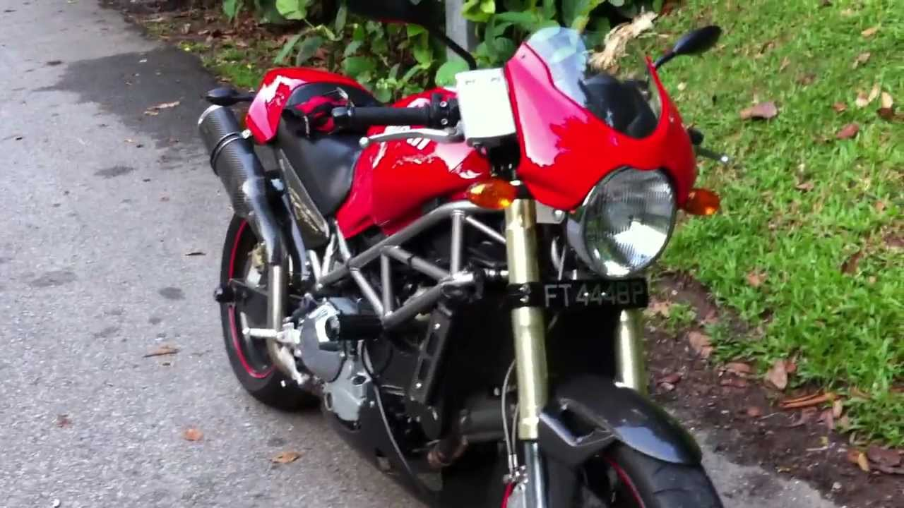 ducati monster s4 2001 singapore walk around youtube. Black Bedroom Furniture Sets. Home Design Ideas