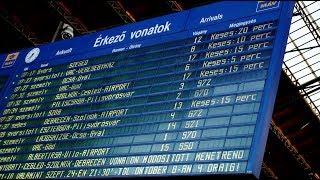Káosz a síneken: képtelen tartani a menetrendet a MÁV