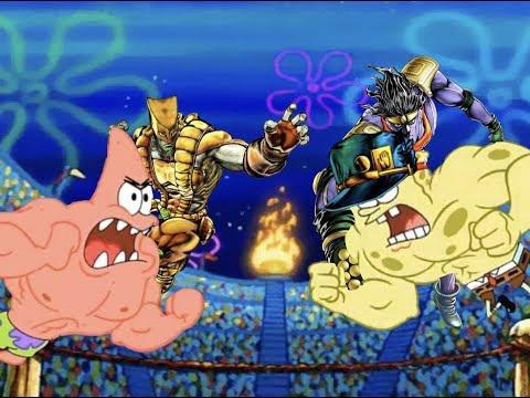 Spongebob's Bizarre Adventure Part 3: Spongebob shows his Stand's Power