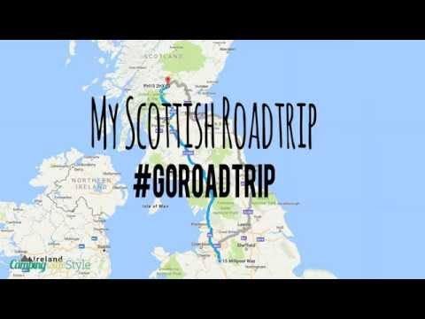 My Road Trip To The Scottish Highlands