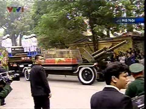 VTV1 tường thuật trực tiếp Lễ tang Đại tướng Võ Nguyên Giáp