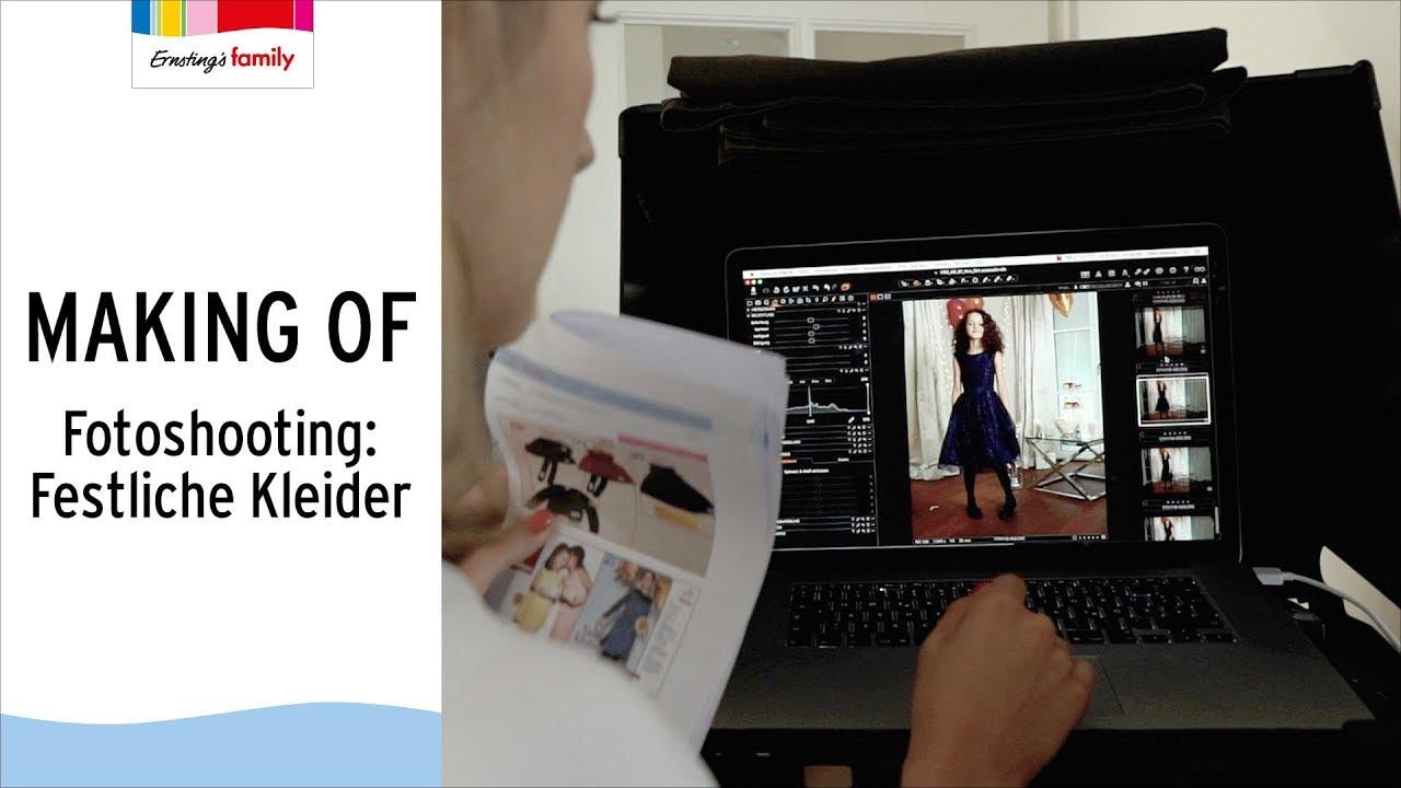 Modestile großartiges Aussehen moderne Techniken FESTLICHE KLEIDER | Ernsting's family | MAKING OF
