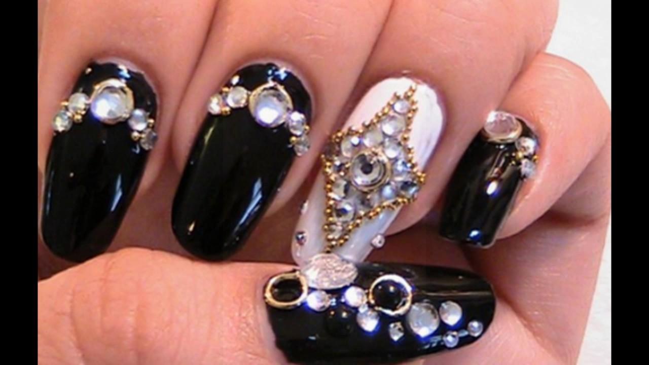 Crystal nail art youtube crystal nail art prinsesfo Image collections