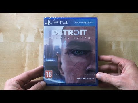 Opening Detroit Become Human (UK) With Gameplay