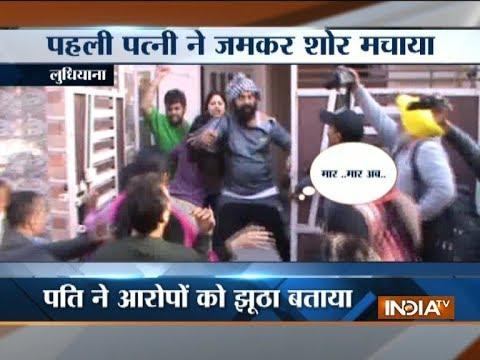 Angry woman creates ruckus in Ludhiana