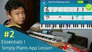 Download lagu Belajar Piano Gak Perlu Guru Les gaes - Simply Piano App Lesson Day 2