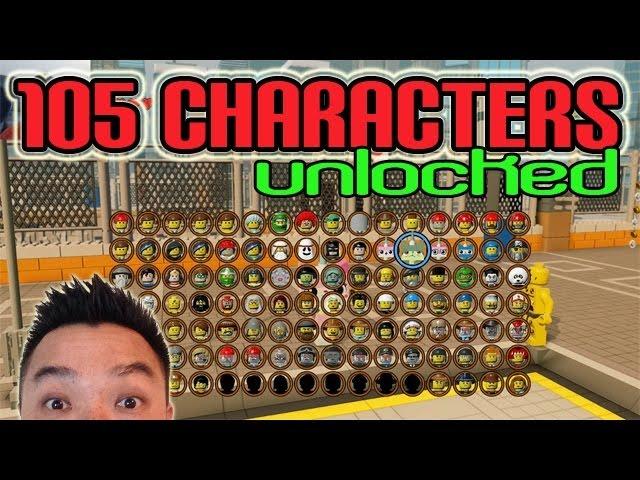 Lego Movie All Characters Unlocked