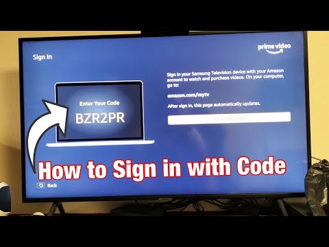 How To Sign In Amazon Prime Video Account From Smart TV (Enter Your Code Where?)