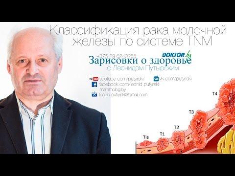 Классификация рака молочной железы по системе TNM. Зарисовки о здоровье с Путырским. Выпуск 18.