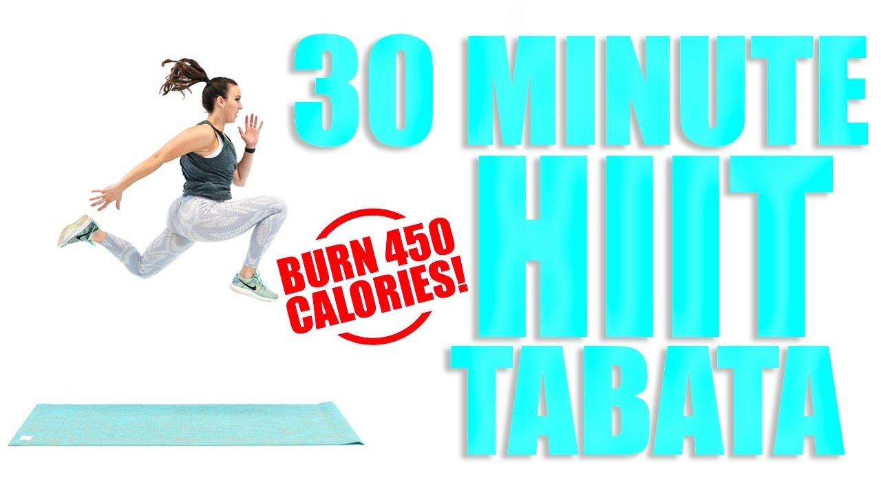 30 Minute Hiit Tabata Workout Sydney Cummings Youtube