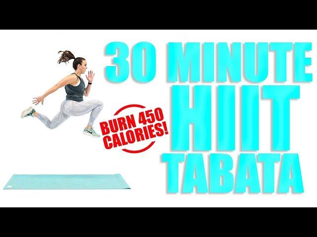 30 Minute HIIT Tabata Workout Sydney Cummings
