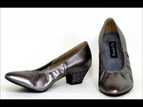 レオノーラローヒール靴ダンスシューズから生まれたパンプス