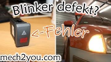 🛠️ Kein Blinker geht nicht mehr am Auto   Warnblinkanlage defekt   Warnblinkschalter wechseln