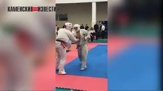 Каменский каратист завоевал золотую медаль на международном турнире