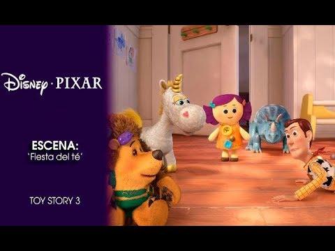 Toy Story 3 Escena Fiesta Del Té Disney Pixar Oficial Youtube