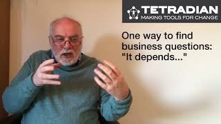 Always start from a business-question - Episode 10, Tetradian on Architectures