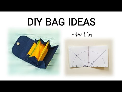 DIY BAG IDEAS~ USEFUL PURSE TUTORIAL #HandyMum