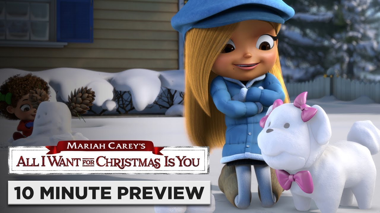 Mariah Careys All I Want For Christmas Is You.Mariah Carey S All I Want For Christmas Is You 10 Minute Preview On Blu Ray Dvd Digital