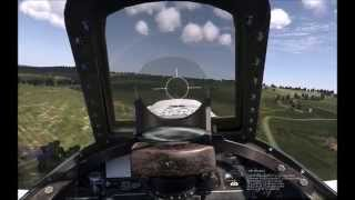 Il-2 Sturmovik Cliffs of dover: Gunsight and other tips