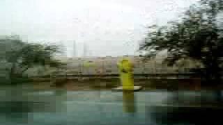 Drive in Kuwait Rain