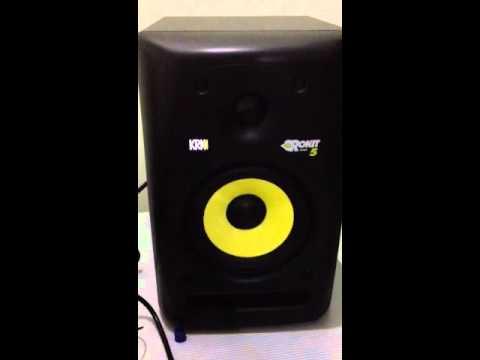 KRK speaker high pitch sound problem