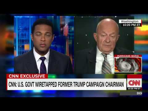 James Clapper: Russia investigation seems to be deepening (CNN interview with Don Lemon)