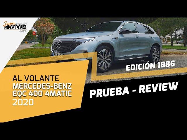 Al volante del Mercedes-Benz EQC 2020 / Prueba / SUV Eléctrico / SuperMotor.Online / T5 - E08