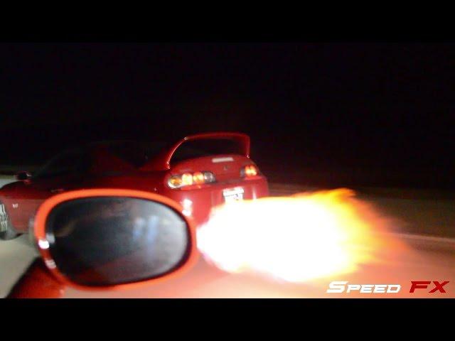 800Whp Hellcat Challenger Vs 700Whp Supra Nitrous Corvette And More