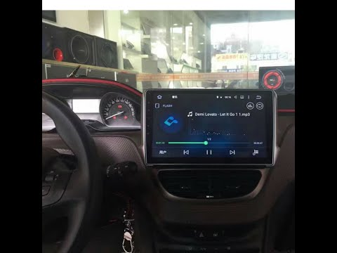 Remplacement Smeg Dasaita Autoradio Android Peugeot 208
