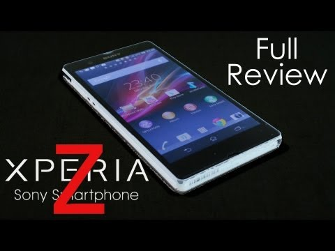 Sony Xperia Z Full Review (with Water Immersion Tests) - Cursed4Eva.com