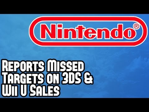 Nintendo News - Company Reports Missed Profit Targets on 3DS & Wii U As Sales Underperform