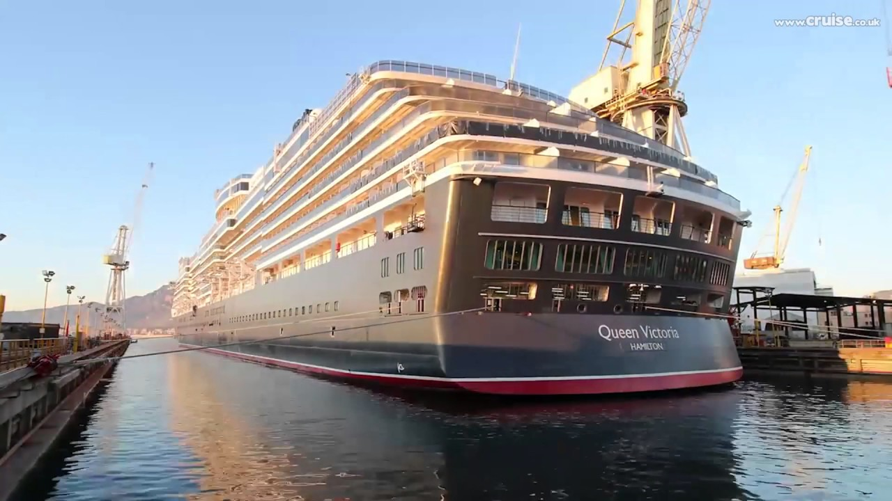 Cunard Queen Victoria Refit Timelapse YouTube - Tracking queen victoria cruise ship