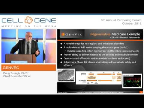 Trial to Reverse Deafness & Balance Disorders - CGF166 - October 2016