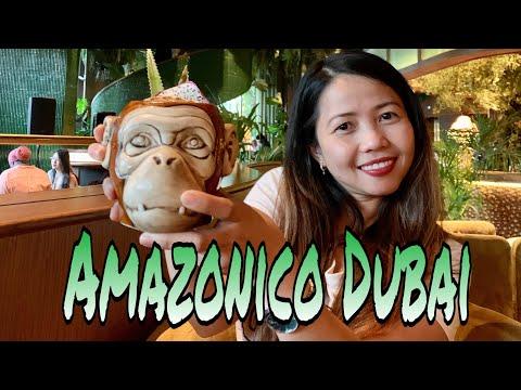 AMAZONICO DUBAI | RAINFOREST INSPIRED RESTAURANT | BEST RESTAURANT IN DUBAI | MAE LG