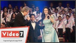 بالفيديو. . لؤى عبدون نجم ذا فويس كيدز يشكر ديانا حداد وسليم سحاب