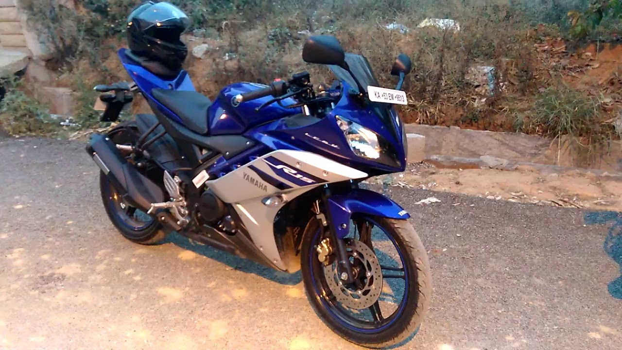 Yamaha R Version  Revving Blue