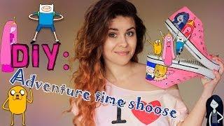 DIY: Adventure time shoes/ Разрисовываем свои кеды :3|Fosssaaa(Группа VK http://vk.com/fosssaaaof VKONTAKTE http://vk.com/fosssaaa INSTAGRAM fosssaaa TWITTER ffoossaa11., 2014-04-29T09:58:06.000Z)