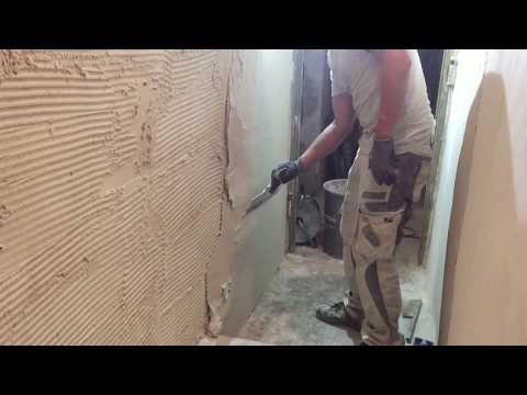 Berühmt Feuchte räume Keller verputzen und Scheiben Nassen UG - YouTube XV45