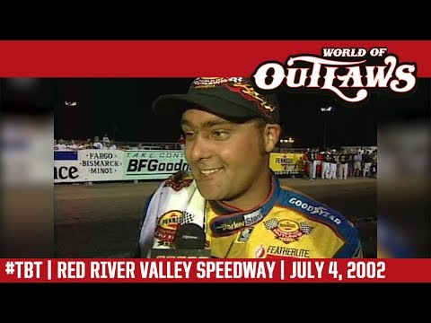 #ThrowbackThursday: World of Outlaws Craftsman Sprint Cars Red River Valley Speedway July 4, 2002