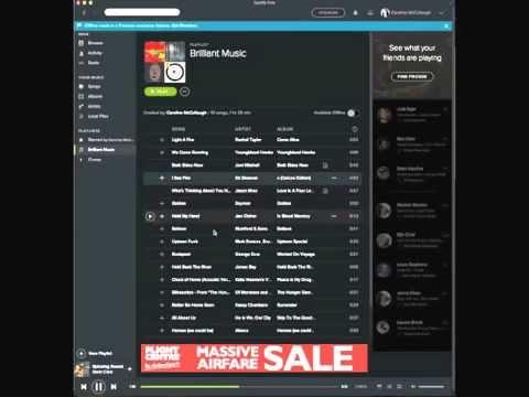 How to Arrange a Playlist on Spotify