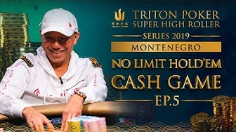 NLH Cash Game Episode 5 - Triton Poker SHR Montenegro 2019