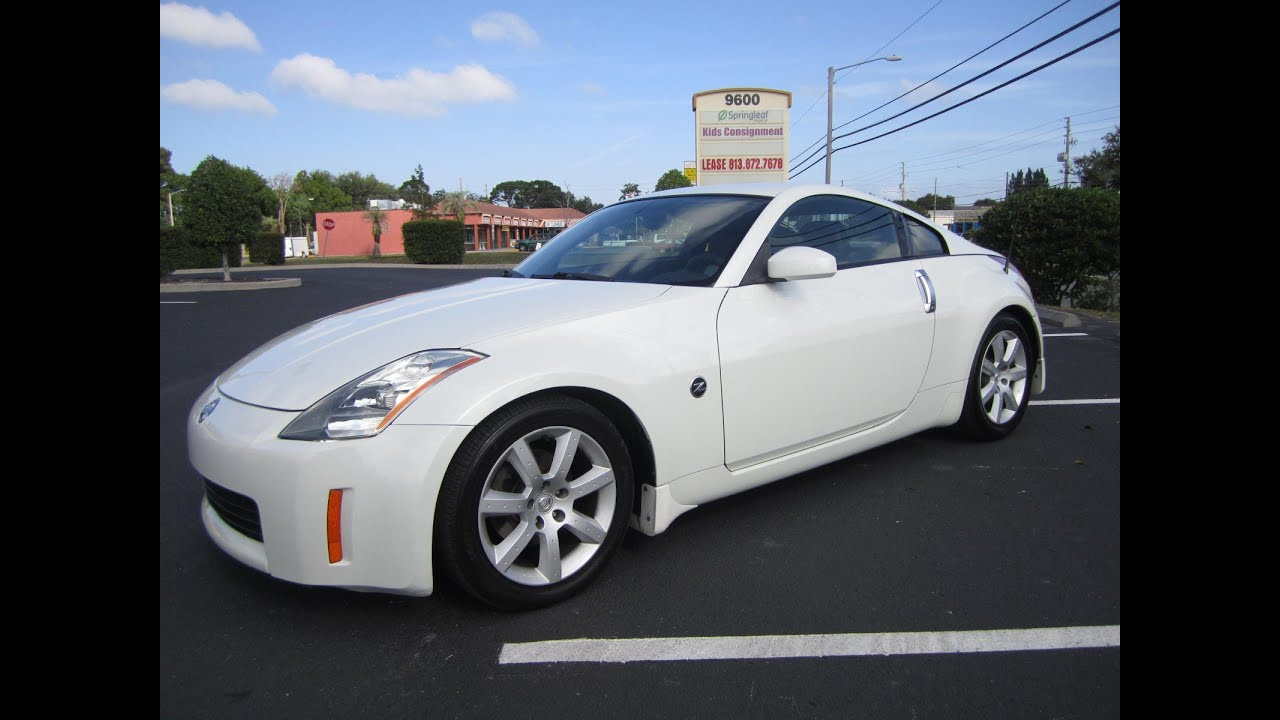 sold 2003 nissan 350z enthusiast 53k miles meticulous motors inc florida for sale youtube. Black Bedroom Furniture Sets. Home Design Ideas