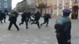 Румынский Спецназ в действии