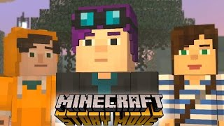 YOUTUBERS IN Minecraft: STORY MODE Episode 6 - A Portal to Mystery Part 2 (Minecraft Roleplay)