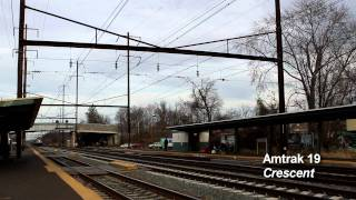 Amtrak Northeast Corridor, Thanksgiving Sunday 2011 (Part 2)