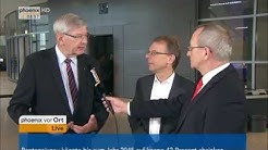 Bundestag: Interview mit Karl Schiewerling und Markus Kurth zur Flexi-Rente am 29.09.2016