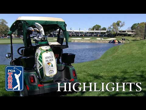 Highlights | Emiliano Grillo and Matthew Fitzpatrick hold lead at Arnold Palmer